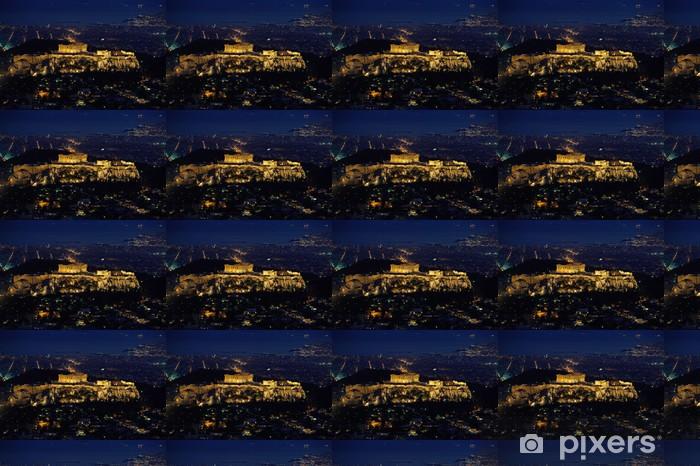 Tapeta na wymiar winylowa Partenon i Akropol nightview - Tematy