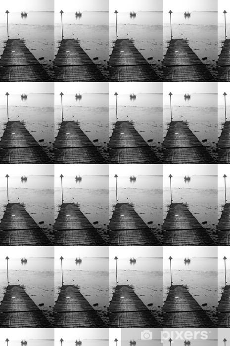 Vinyl behang, op maat gemaakt Noordelijke zee - Water