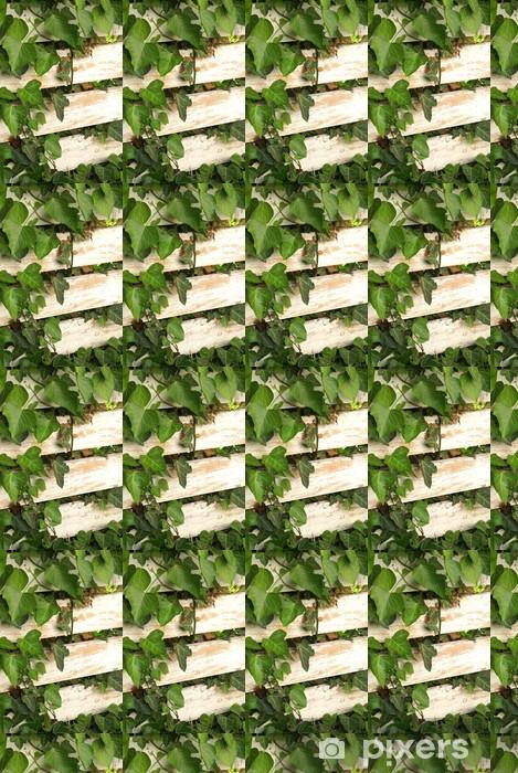 Tapeta na wymiar winylowa Zarośnięta ogrodzenia - Dom i ogród