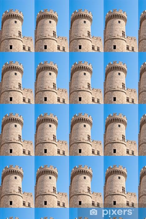 Hospitallers Castle in Rhodes Vinyl custom-made wallpaper - Europe