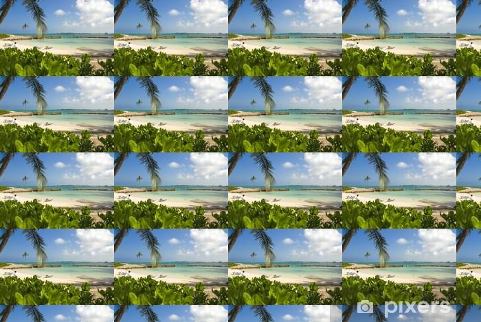 Vinylová tapeta na míru Tropical Resort Beach - Mír