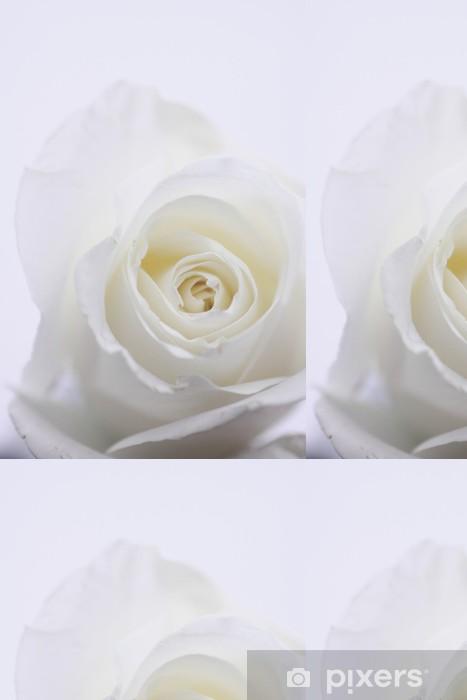 Weiße Rose Vinyl Wallpaper - Themes