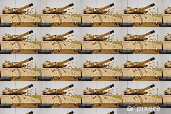 Papier peint vinyle sur mesure / Char de combat israélien Merkava-3 - Moyen Orient
