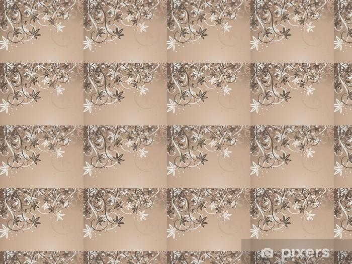 Vinylová tapeta na míru Floral abstraktní. - Květiny