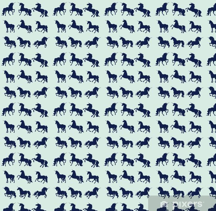 Papier peint vinyle sur mesure Licorne - Animaux imaginaires
