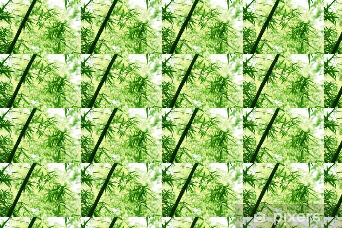 Vinyl behang, op maat gemaakt Bamboo - Planten
