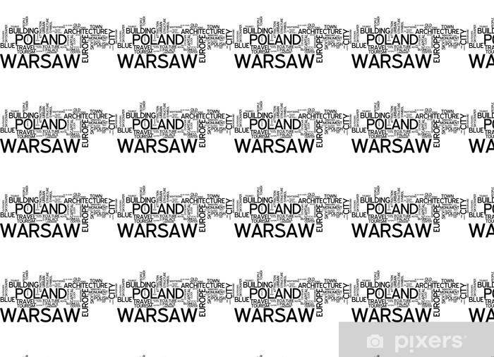 Vinyltapete nach Maß Warschau - Themen