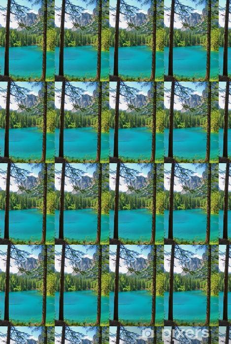 Tapeta na wymiar winylowa Góry i turkusowe jezioro Gruener See, Styria, Austria - Wakacje