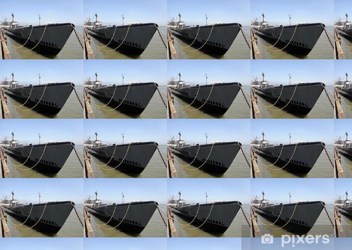 Papier peint vinyle sur mesure Vieux sous-marin - Bateaux
