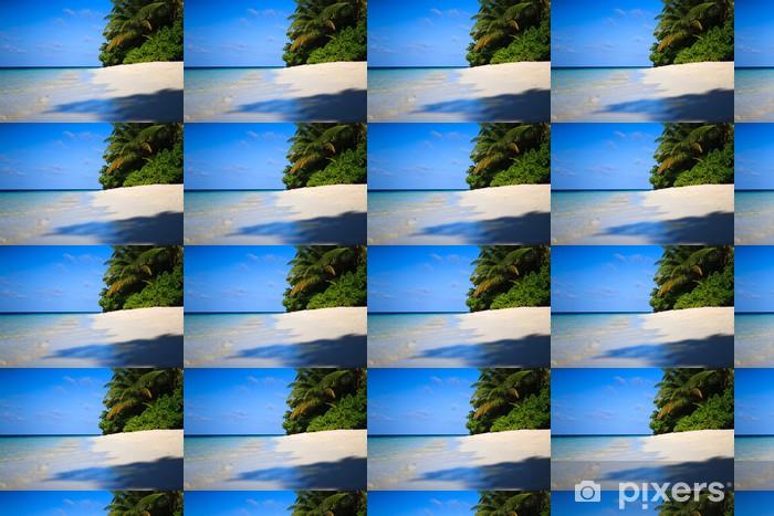 Papier peint vinyle sur mesure Tropical Paradise à Maldives - Vacances