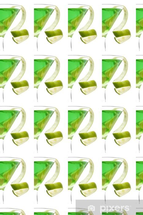 Papier peint vinyle sur mesure Agrumes cocktail torsion - Repas
