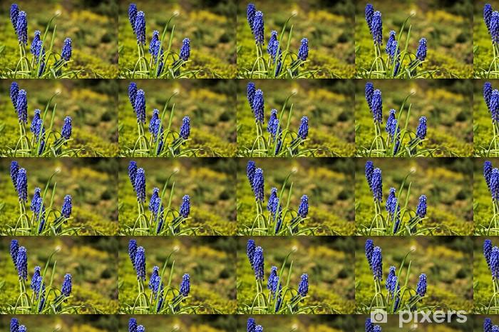 Vinyltapete nach Maß Violette Blumen - Blumen