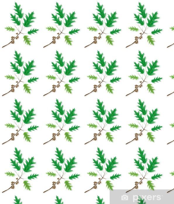 Tapeta na wymiar winylowa Gałąź dębu ozdobnych klon z żołędzi - Pory roku