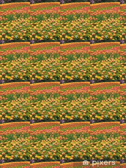 Papier peint vinyle sur mesure Blumenfeld - Fleurs