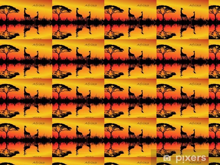 Afrika Vinyl custom-made wallpaper - Other