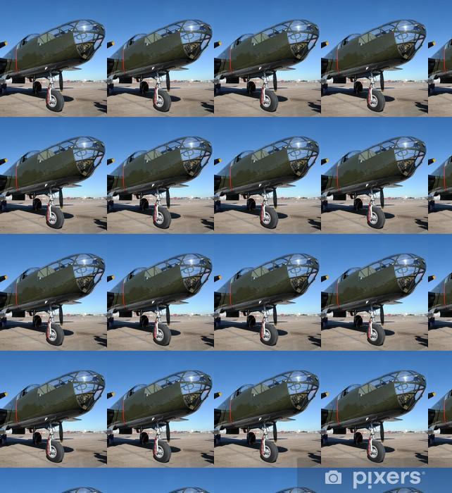 Tapeta na wymiar winylowa Stary bombowiec - Transport powietrzny