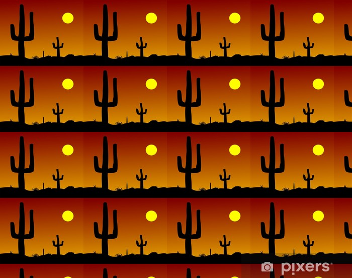 Tapeta na wymiar winylowa Cactus Desert - Ameryka
