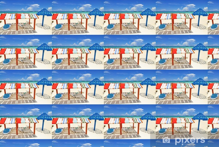 Cayo Coco Island Beach Vinyl custom-made wallpaper - Holidays