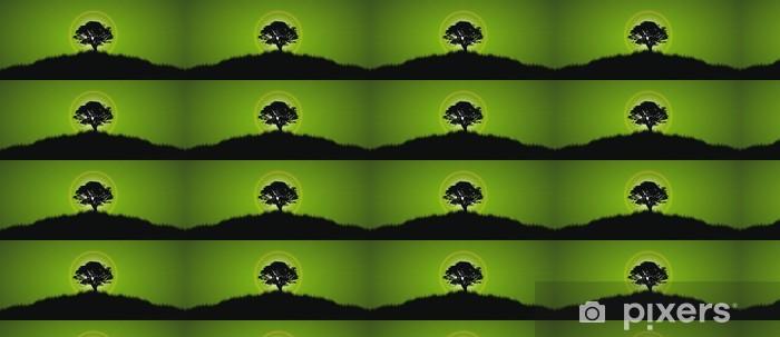Papier peint vinyle sur mesure Lone Tree - Arbres