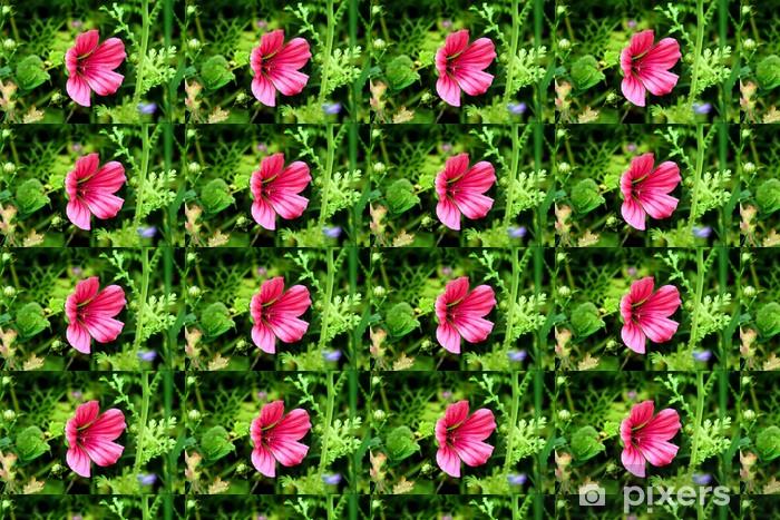 Papier peint vinyle sur mesure Summerflower - Fleurs