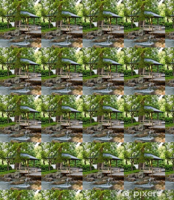 Måttanpassad vinyltapet Natur Garten I - Asien