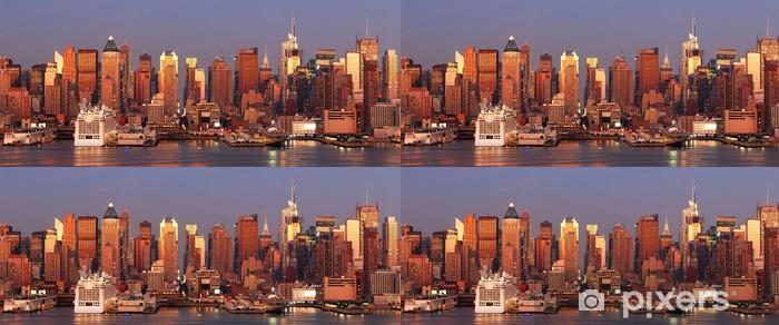 Vinylová Tapeta Urban město slunce - Amerika