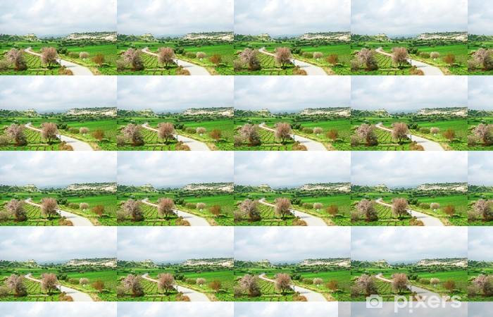 Landscape Vinyl custom-made wallpaper - Agriculture