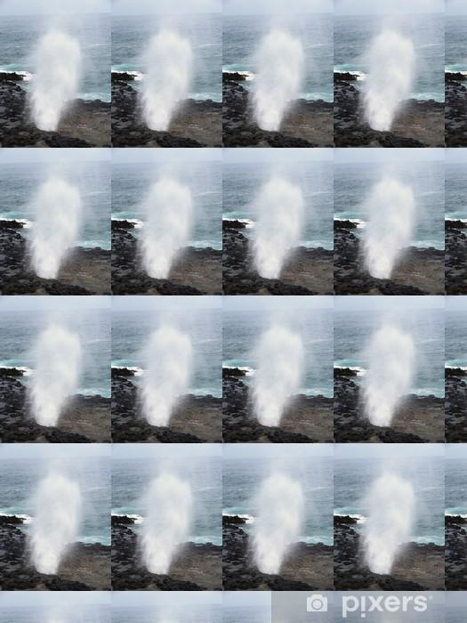 カウアイ島の潮吹き岩 Vinyl custom-made wallpaper - America