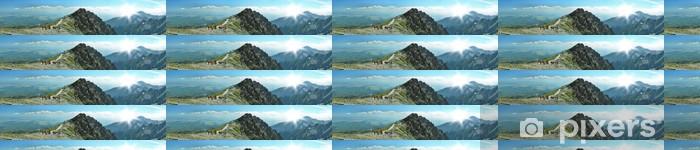 Papier peint vinyle sur mesure Panorama montagne - Thèmes