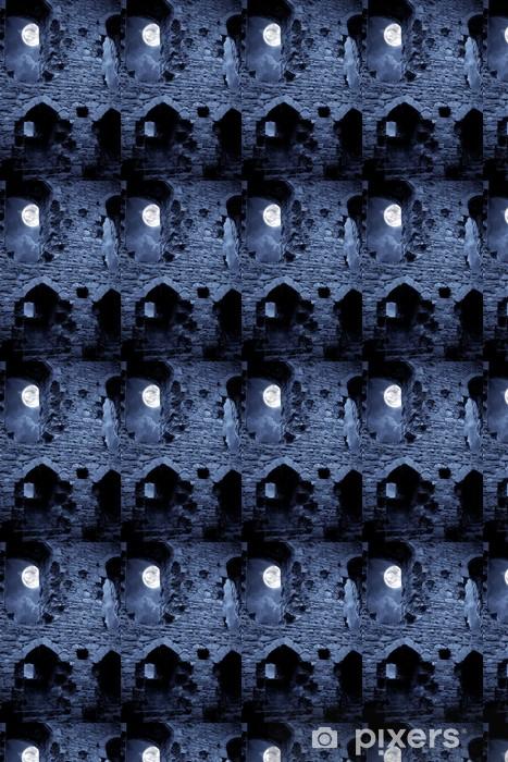 Vinyltapete nach Maß Spooky Burg - Traurigkeit