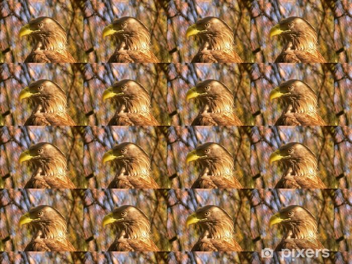 Vinyltapete nach Maß Goldener Adler - Themen