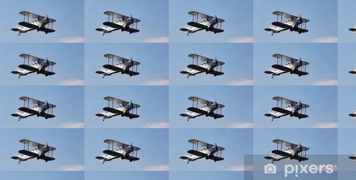 Papier peint vinyle sur mesure Avion antique - Dans les airs