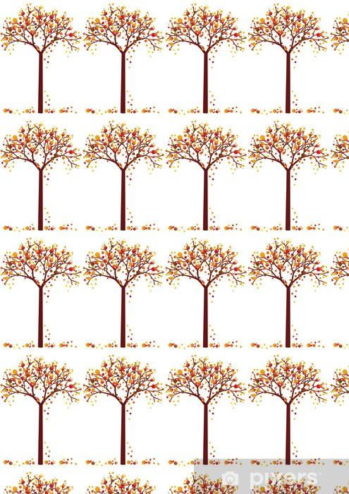 Tapeta na wymiar winylowa Kolorowe drzewa jesienią grungy - Pory roku