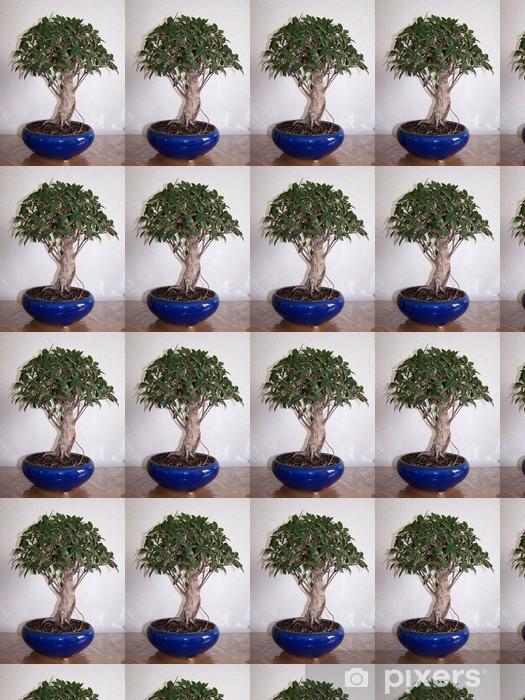 Papier peint vinyle sur mesure Ficus bonsaï - Arbres