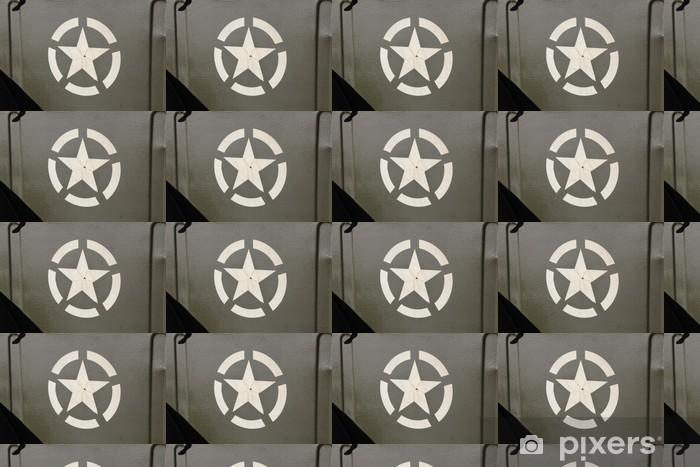 Vinylová tapeta na míru Hvězda na US Army Jeep - Násilí a zločin