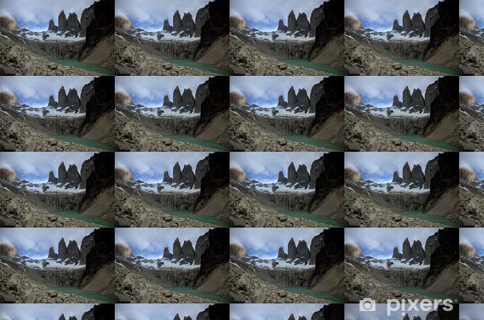 Torres del Paine, Chile Vinyl custom-made wallpaper - America
