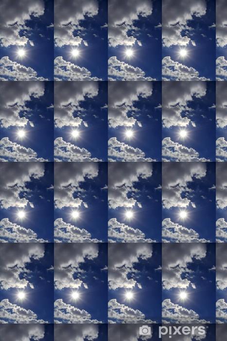 Tapeta na wymiar winylowa Słońce i chmury na niebie - Niebo