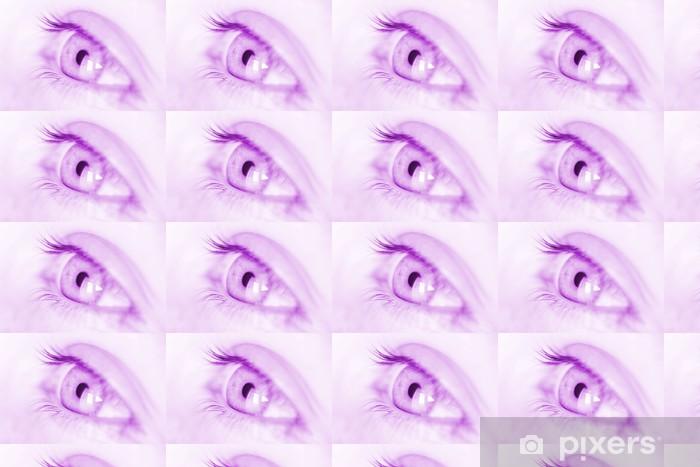 Vinyltapete nach Maß Oeil violet - Religion