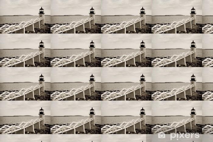 Tapeta na wymiar winylowa Marshall Point latarni na atlantyckim wybrzeżu Maine - Ameryka