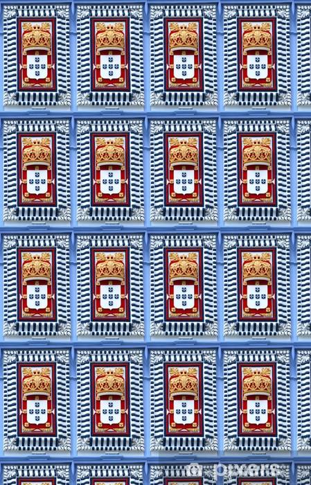 Papel de parede em vinil à sua medida escudo de portugal - Urbano