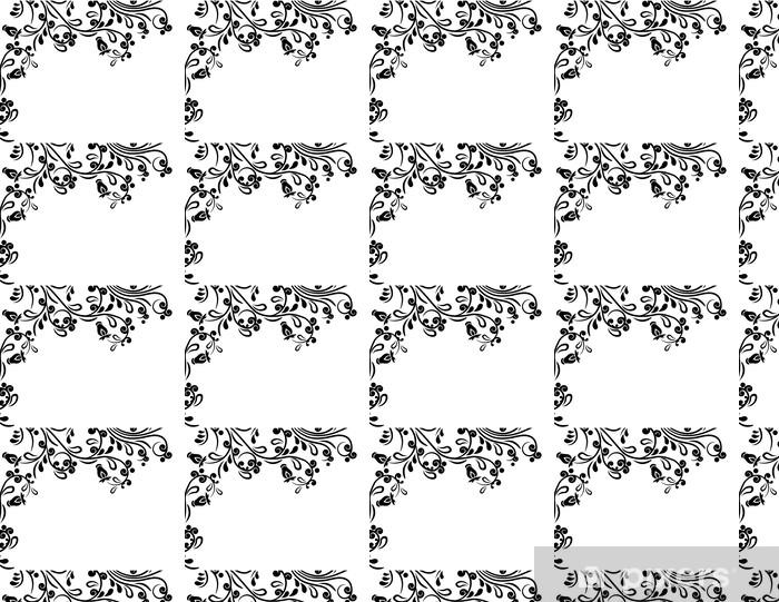 Vinylová tapeta na míru Nádherné květinové ozdobné pozadí - Rostliny