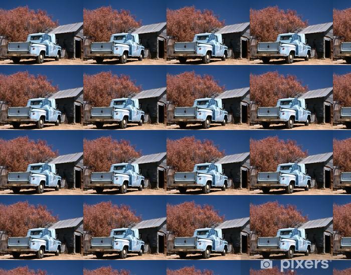 Papel pintado estándar a medida Chevrolet viejo y oxidado - América
