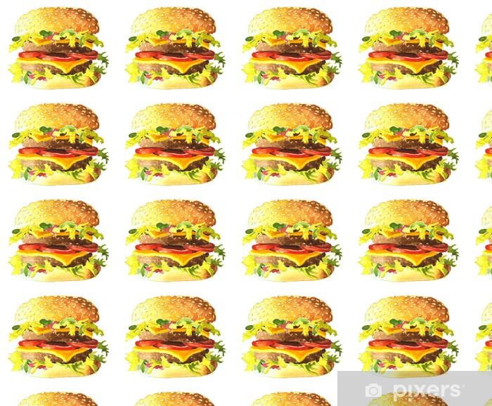 Tapeta na wymiar winylowa Burger - Posiłki