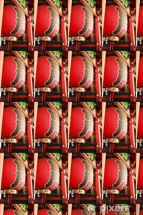Tapeta na wymiar winylowa Duża latarnia Kaminarimon Świątynia Sensoji (latarka) - Azja