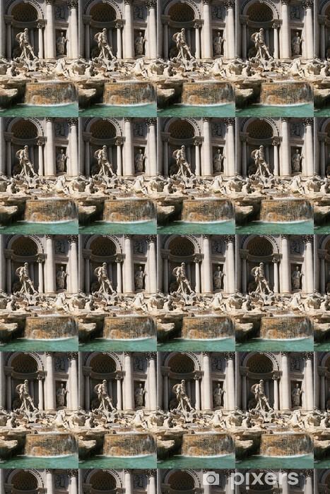 Tapeta na wymiar winylowa Fontanna di Trevi, Rzym - Miasta europejskie