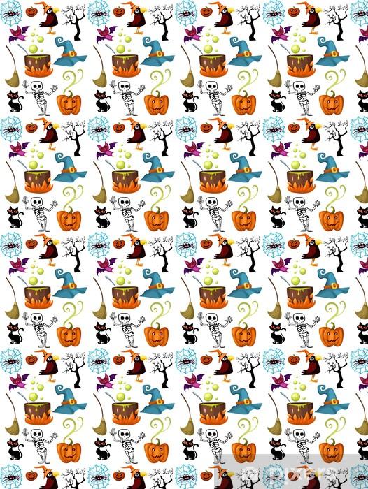 Papier peint vinyle sur mesure Halloween ensemble - Fêtes internationales