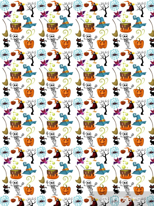 halloween set Vinyl custom-made wallpaper - International Celebrations