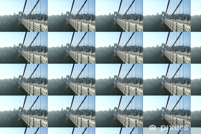 Vinyl behang, op maat gemaakt Clifton zijaanzicht - Infrastructuur