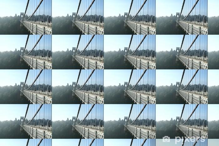 Papel pintado estándar a medida Clifton vista lateral - Infraestructuras