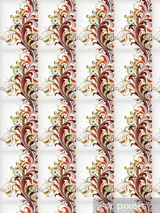 Papier peint vinyle sur mesure Décorations en fleur au fond - Textures